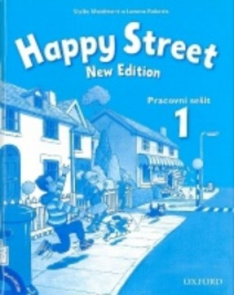 Happy Street 1 New Edition Activity Book and MultiROM Pack CZ - Maidment Stella