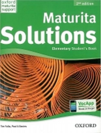 Maturita Solutions 2nd Edition Elementary Student´s Book Czech Edition - Tim Falla; P.A. Davies