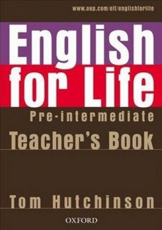 English for life Pre-intermediate Teacher's Book + MultiROM - Tom Hutchinson