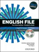 English File Pre-Intermediate Student´s Book + iTutor DVD-ROM Czech Edition