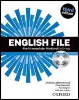 English File Pre-Intermediate Workbook with key + iChecker CD-ROM