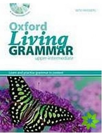 OX LIVING GRAMMAR UPPER W/KEY + CD-ROM PK New Ed.