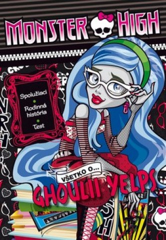 Monster High Všetko o Ghoulii Yelps