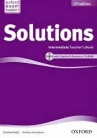 Maturita Solutions Intermediate Teacher's Book with Teacher's Resource CD-ROM