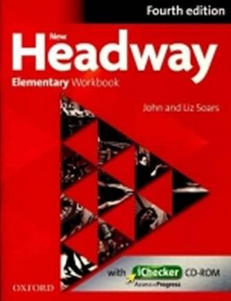New Headway Fourth Edition Elementary Workbook Without Key with iChecker CD-ROM