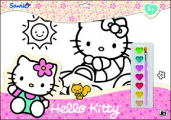 Hello Kitty omalovánka