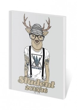 Diář 2016 - Poketto Student - Deer