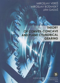 Theory of convex-concave and plane cylindrical gearing