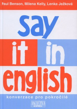 Say it in English - kniha