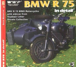 BMW R75 WWII  in detail