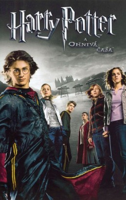 Harry Potter a ohnivá čaša DVD