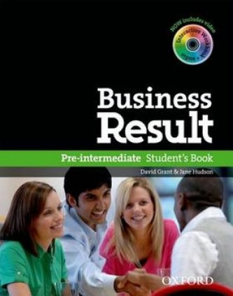 Business Result Pre-intermediate Student´s Book - David Grant; J. Hudson