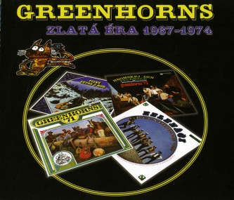 Greenhorns - Zlatá éra 1967 - 1974 3CD