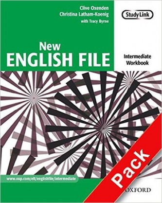 New English File Intermediate Workbook with MultiRom Pack - Oxenden Clive, Latham-Koenig Christina,