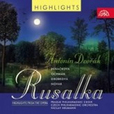 Rusalka - highlights - CD