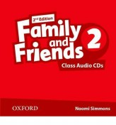 Family and Friends 2nd Edition 2 Class Audio CDs