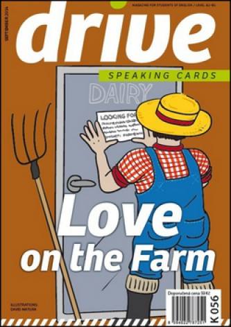 Drive Speaking Cards Love on the Farm