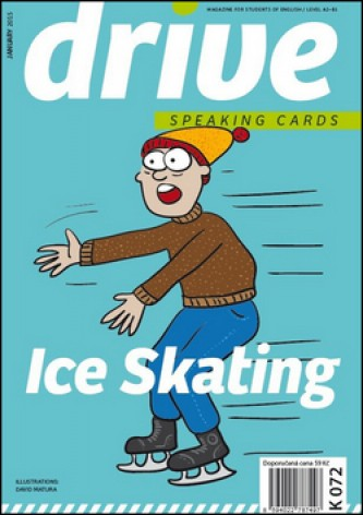 Drive Speaking Cards Crazy Ice Skating