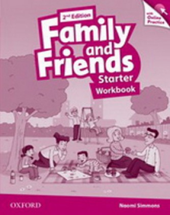 Family and Friends (2nd Edition) Starter Workbook with Online Skills Practice