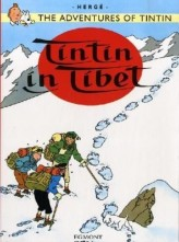 The Adventures of Tintin - Tintin in Tibet. Tim in Tibet, englische Ausgabe