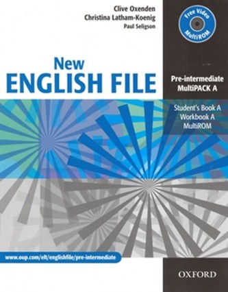 New English File Pre-intermediate Multipack A - Oxenden Clive